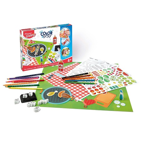 COLOR & PLAY MAPED CREATIVE BARBEQUE