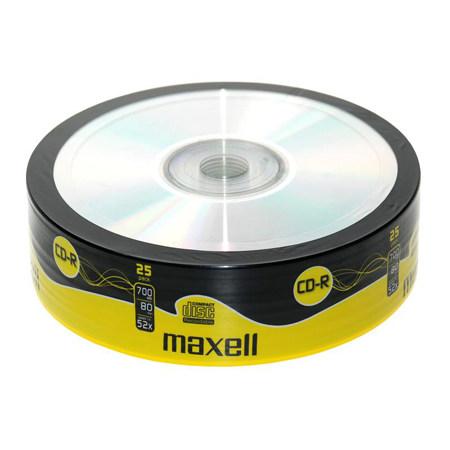 CD-R 80 MAXELL CB 25