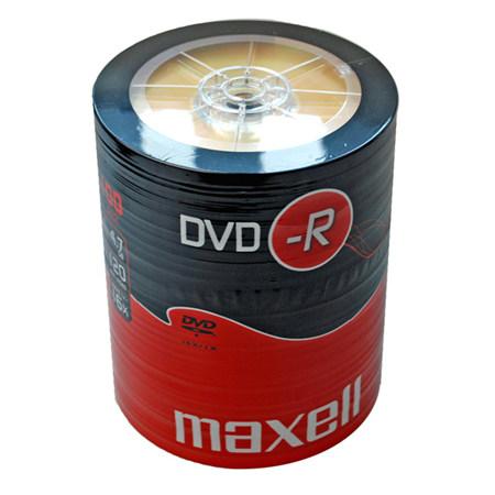 DVD-R MAXELL 16X CB 100