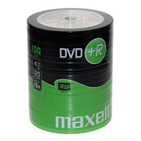DVD+R MAXELL 16X CB 100