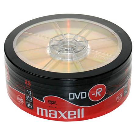 DVD-R MAXELL 16X CB 25