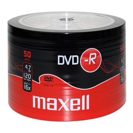 DVD-R MAXELL 16X CB 50