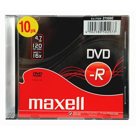DVD-R MAXELL 16X SLIM CASE