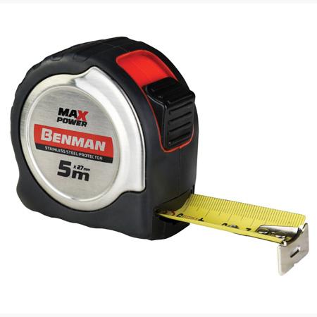 ΜΕΤΡΟΤΑΙΝΙΕΣ BENMAN MAXPOWER 7,5MX33MM