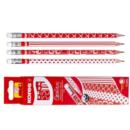 ΜΟΛΥΒΙΑ KORES RED+WHITE ΚΤ 12 ΤΜΧ