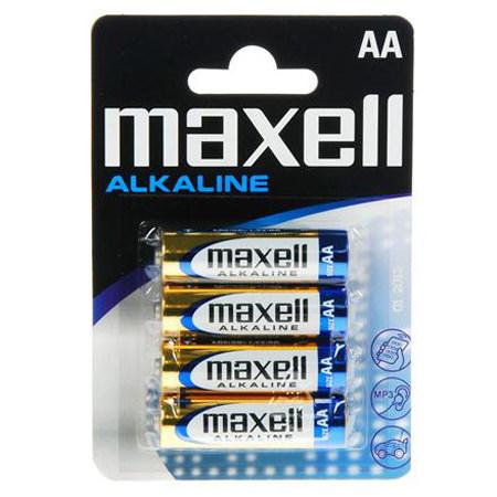 ΜΠΑΤΑΡΙΕΣ MAXELL ALKALINE LR06 AA BLISTER 4T