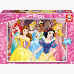 ΠΑΖΛ  DISNEY PRINCESS 100TMX
