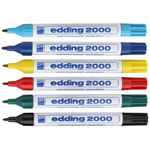 ΜΑΡΚΑΔΟΡΟΙ EDDING 2000 PERMANENT MARKER 1.5-3MM