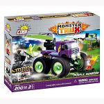 COBI MONSTER TRUX PURPLE MONSTER 200PCS