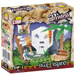 COBI PIRATE SKULL ISLAND 100PCS