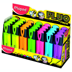 ΥΠΟΓΡΑΜΜΙΣΤΗΣ MAPED FLUO PEP'S CLASSIC DISPLAY 24 TEM
