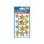 STICKERS AVERY CHRISMTAS STARS