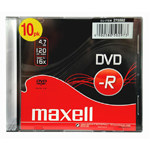 DVD-R MAXELL 5mm 16X SLIM CASE