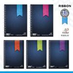 """Τετράδια Global Μονο Σπιράλ """"Ribbon"""" ΜΙΝΙ 14x10 πλάγιο Spiral"""