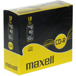 CD-R 80 MAXELL 5mm SLIM CASE