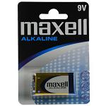 ΜΠΑΤΑΡΙΕΣ MAXELL ALKALINE 6 LF22 9V BLISTER 1T