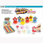 ΣΦΡΑΓΙΔΕΣ PRETTY STAR 2D STICKER STAMP 48 TEM